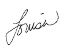 Louisa Signature