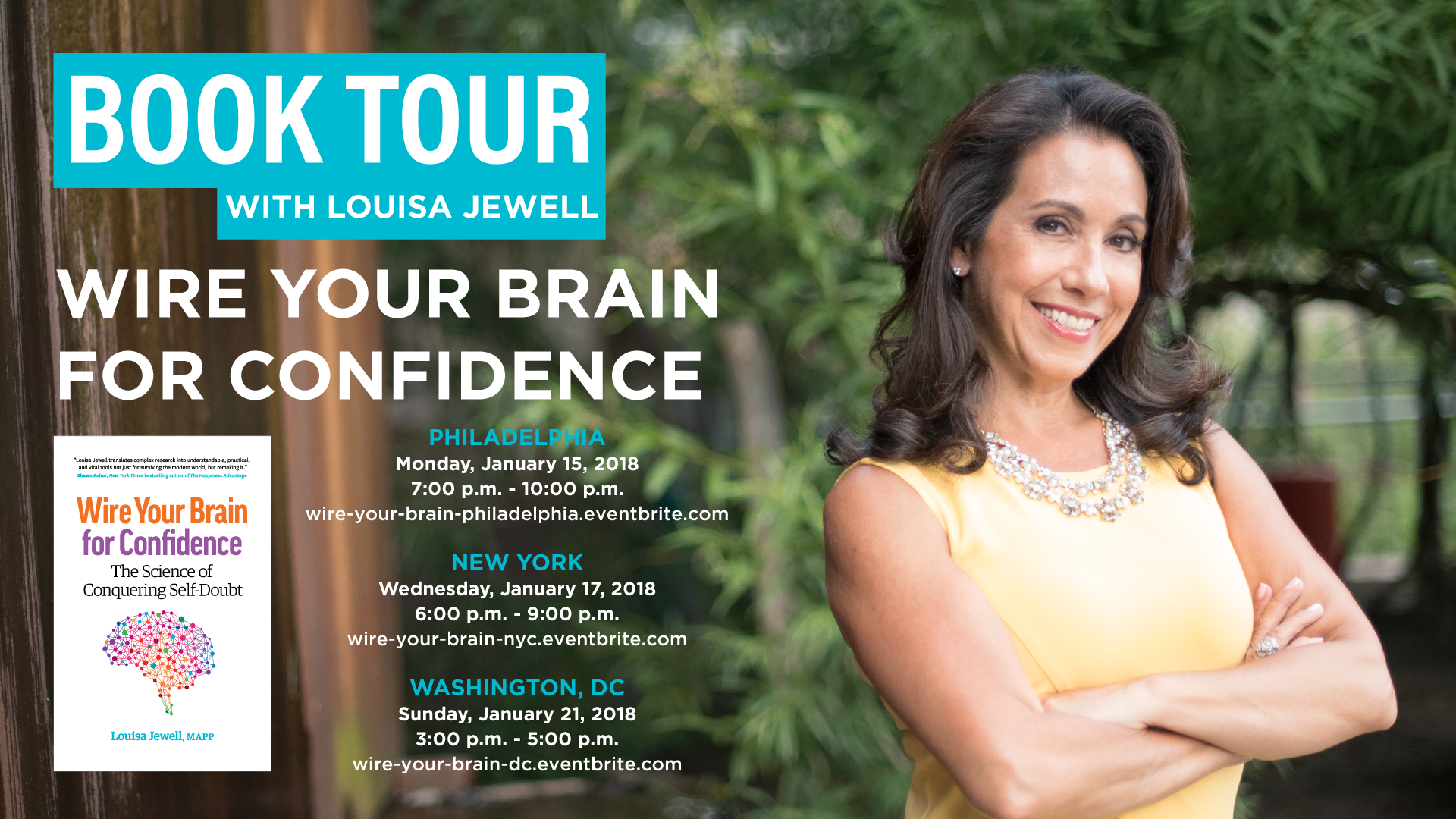 Wire Your Brain for Confidence Book Tour